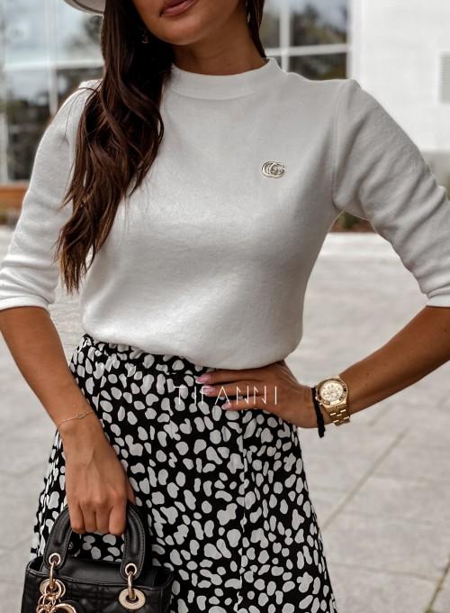 Sweter Lesi śmietankowy 1