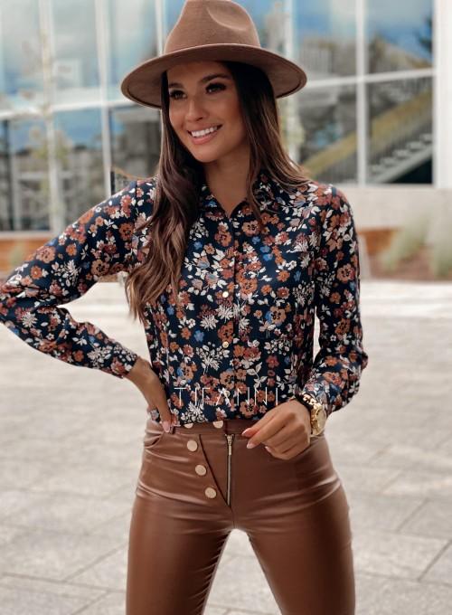 Koszula Pampi z kwiatowym printem