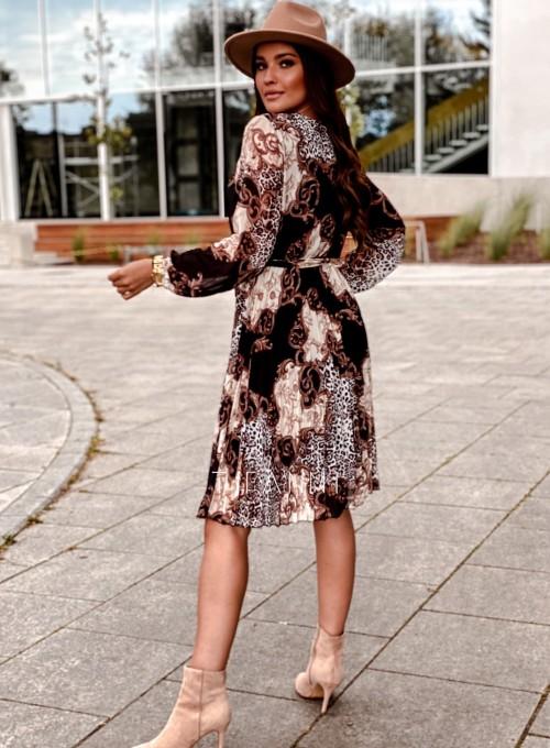 Zwiewna plisowana sukienka Karen 2