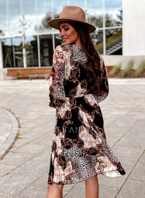 Zwiewna plisowana sukienka Karen 3