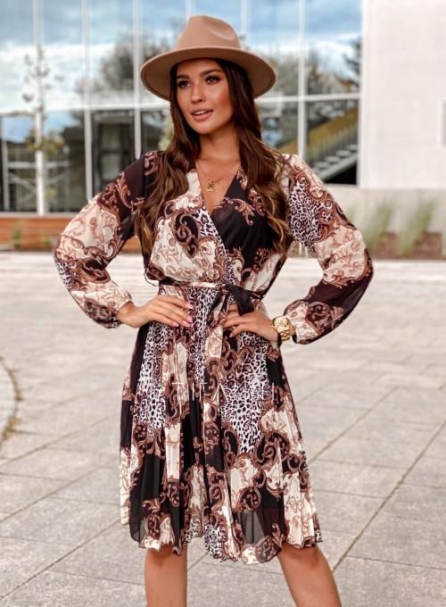 Zwiewna plisowana sukienka Karen 5