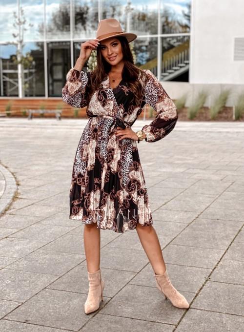 Zwiewna plisowana sukienka Karen 7