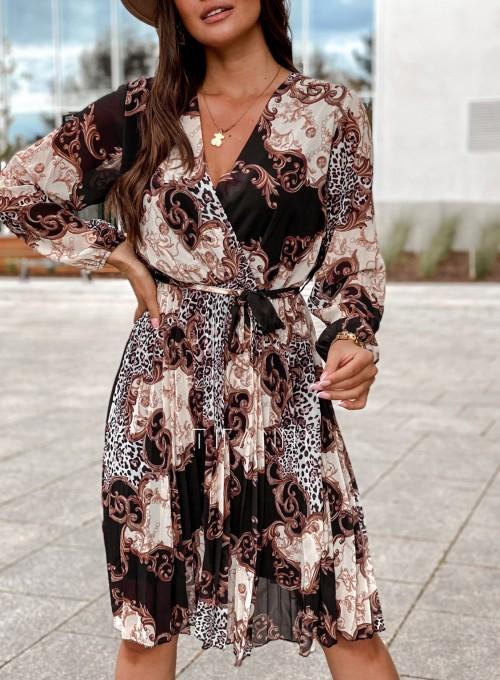 Zwiewna plisowana sukienka Karen 1