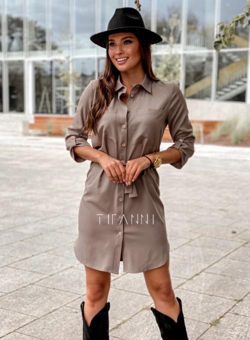 Koszulowa sukienka Paris 6
