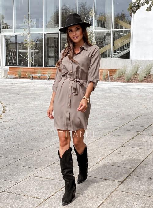 Koszulowa sukienka Paris 4
