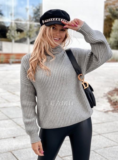 Sweter golf Blanco szary 3