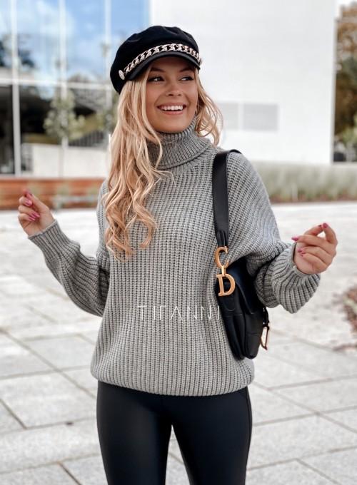 Sweter golf Blanco szary 4