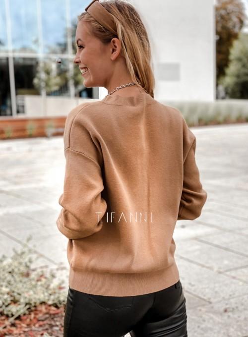 Bluzka sweter z łańcuszkiem Marco 3
