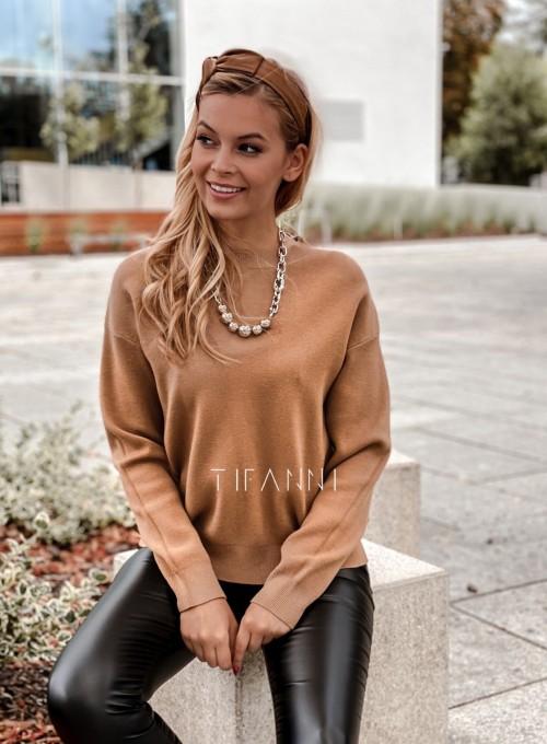 Bluzka sweter z łańcuszkiem Marco 1