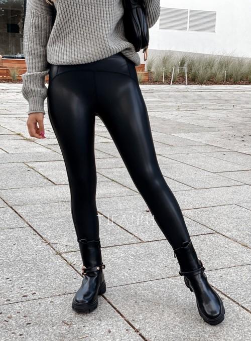 Leginsy skajkowe Toli czarne