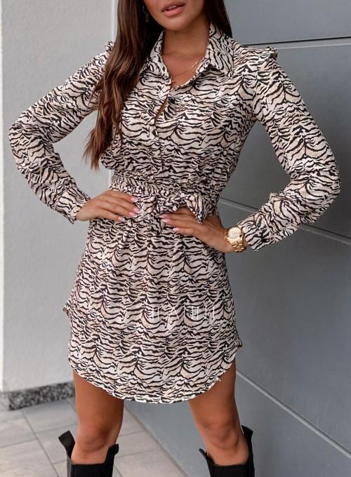 Sukienka Tola zebra 1
