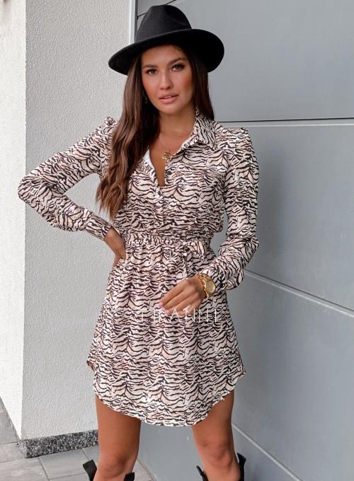 Sukienka Tola zebra 2
