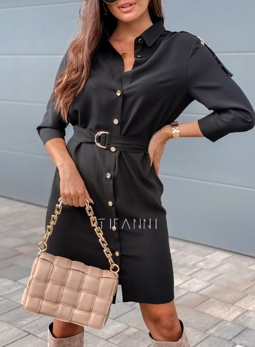 Sukienka Fabia czarna 1