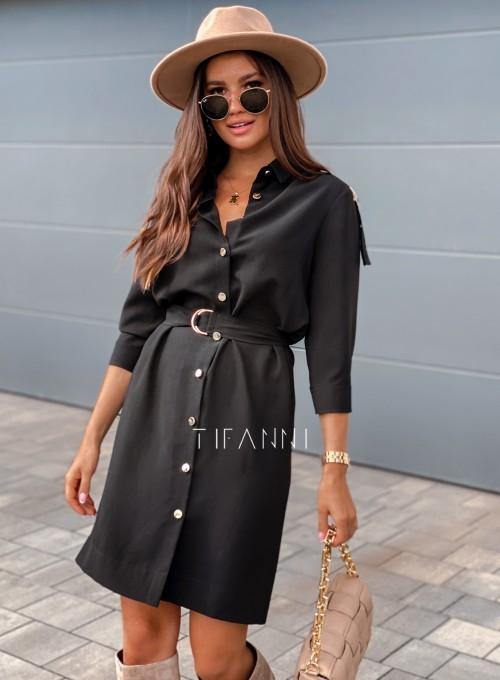 Sukienka Fabia czarna 4