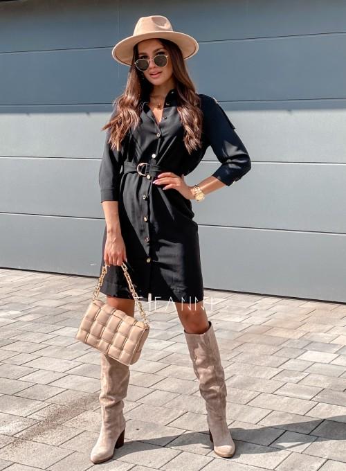 Sukienka Fabia czarna 2