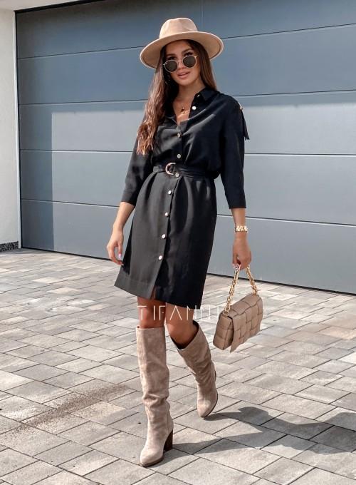 Sukienka Fabia czarna 5
