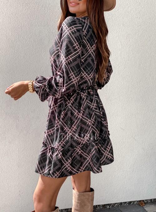 Sukienka Malvia czarna 3