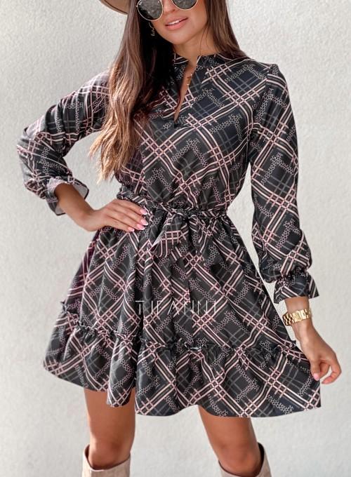 Sukienka Malvia czarna 1