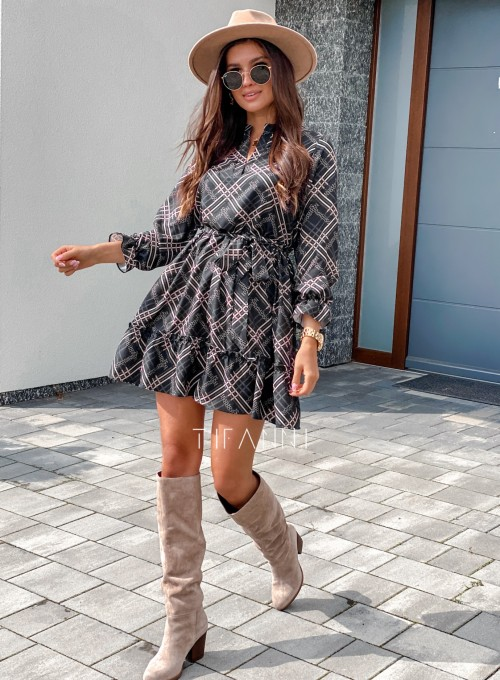 Sukienka Malvia czarna 6