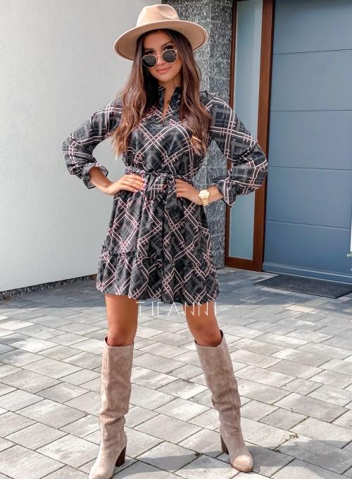 Sukienka Malvia czarna 2