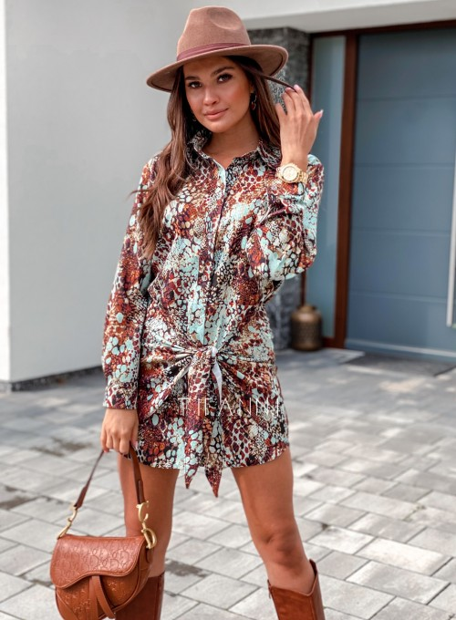 Sukienka wiązana Mili 4