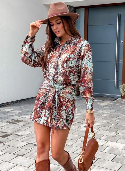 Sukienka wiązana Mili 2