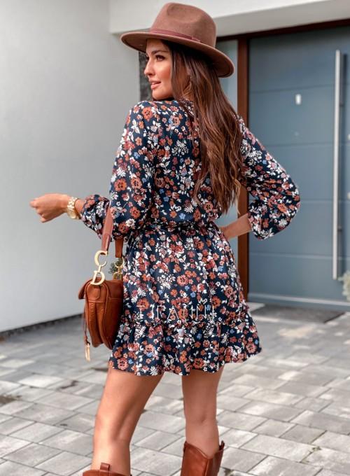 Sukienka w kwiatki Malvia III 3