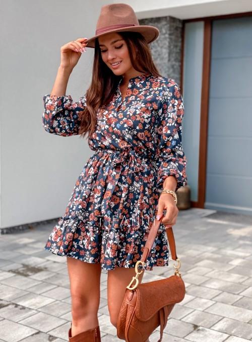 Sukienka w kwiatki Malvia III 4
