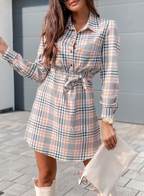 Sukienka Tola krata 1
