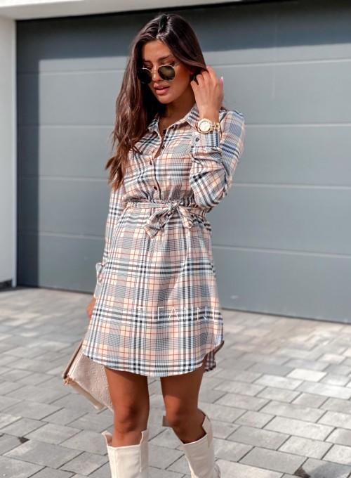 Sukienka Tola krata 4