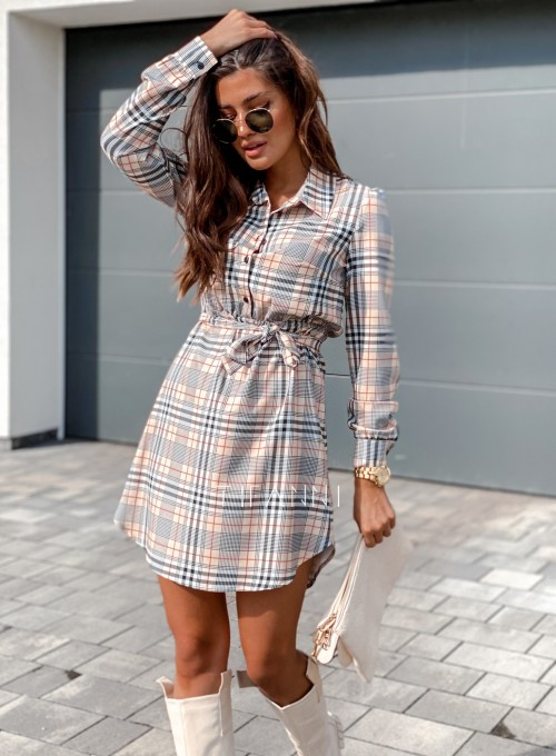 Sukienka Tola krata 6