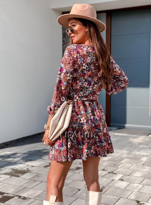 Sukienka Odri w kwiatki 3
