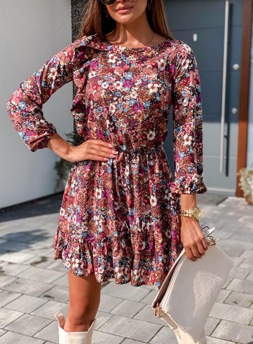 Sukienka Odri w kwiatki 1