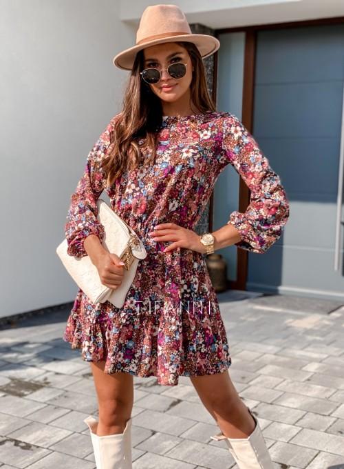 Sukienka Odri w kwiatki 4