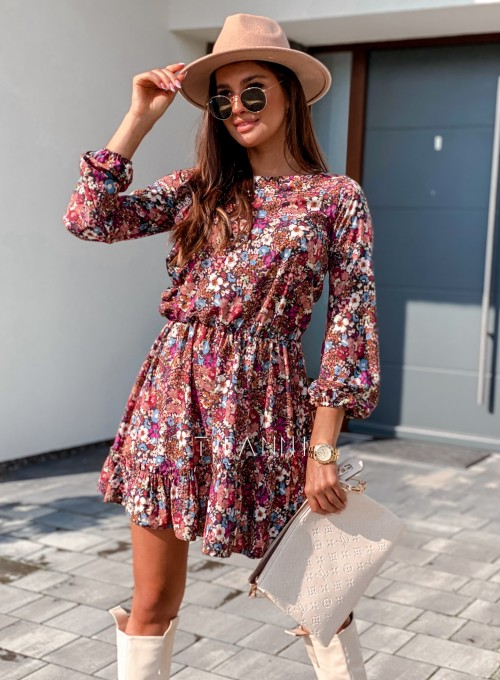 Sukienka Odri w kwiatki 5