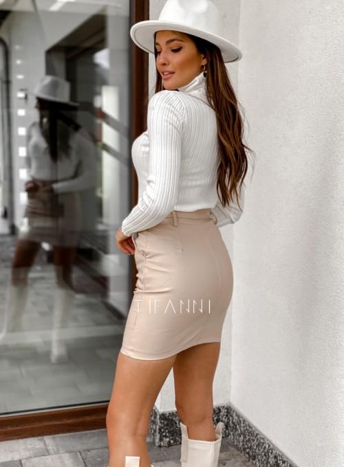 Woskowana spódnica Fabia 3