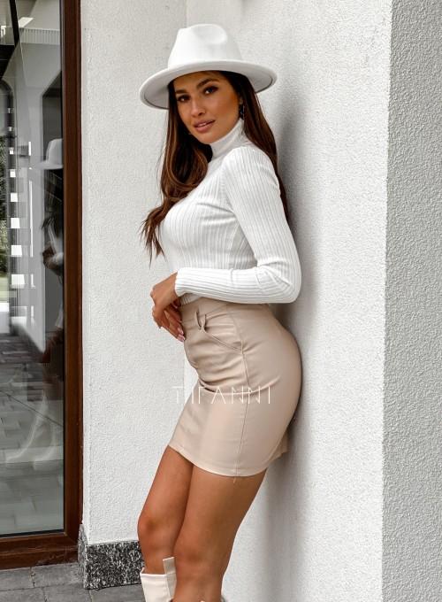 Woskowana spódnica Fabia 4