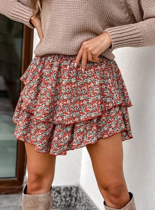 Spódnica Dolly kwiatki