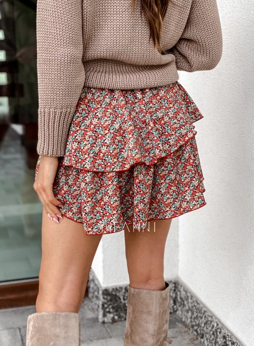 Spódnica Dolly kwiatki 2