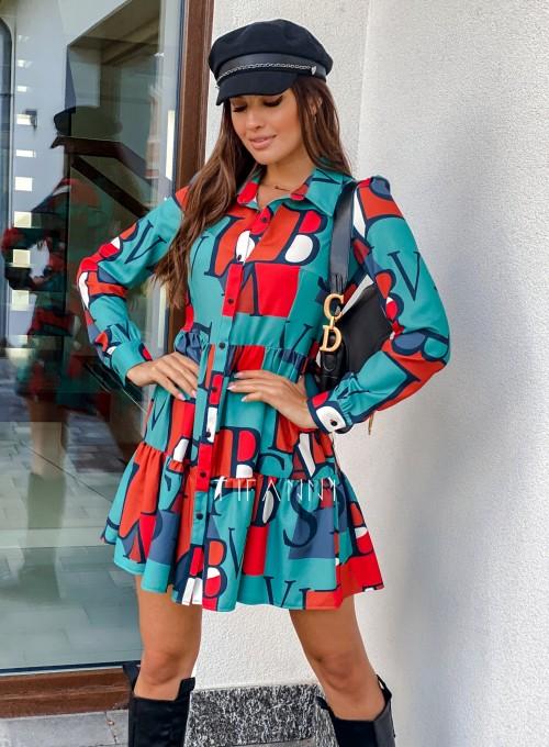 Sukienka Mula literki
