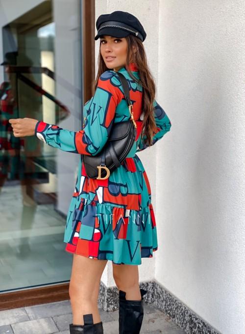 Sukienka Mula literki 4