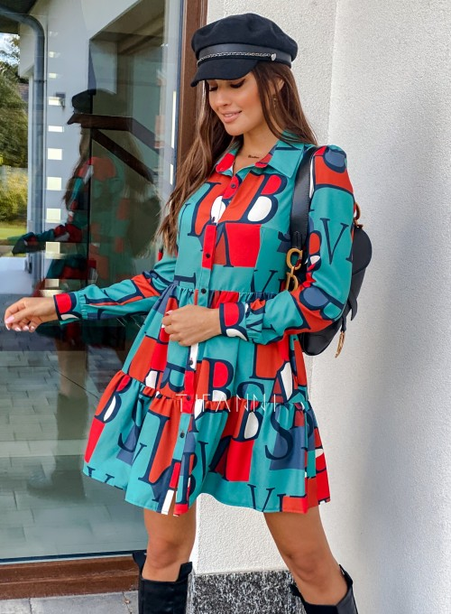 Sukienka Mula literki 5