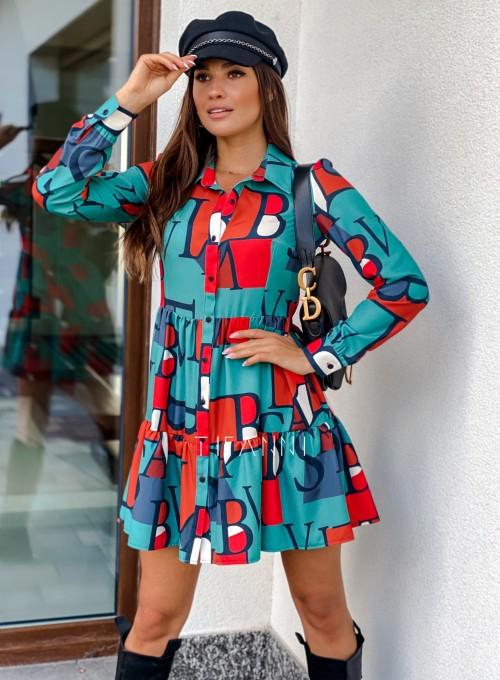 Sukienka Mula literki 6