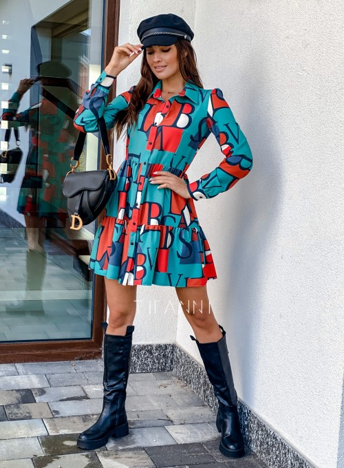 Sukienka Mula literki 3