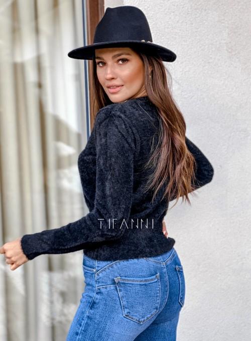 Sweter alpakowy Tifi czarny 3