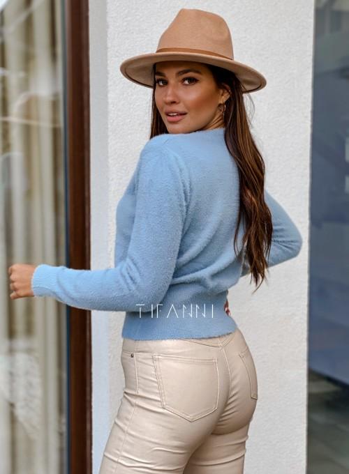 Sweter alpakowy Tifi blue 3
