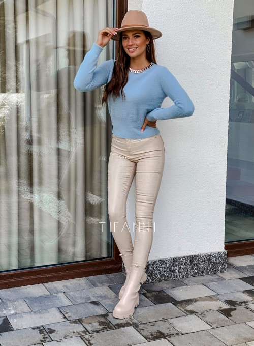 Sweter alpakowy Tifi blue 2