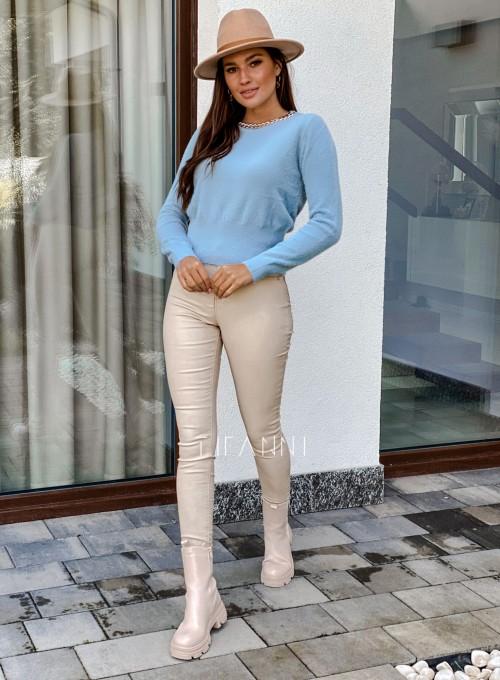 Sweter alpakowy Tifi blue 6