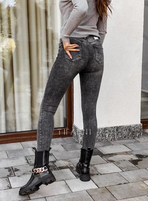 Spodnie jeansowe Rufi czarne 1