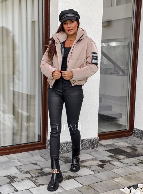 Woskowane spodnie Linz 1